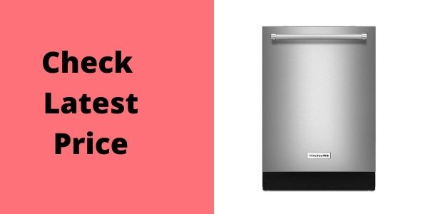 KitchenAid Aid KDTE334GPS 39dB Stainless Built-in Dishwasher