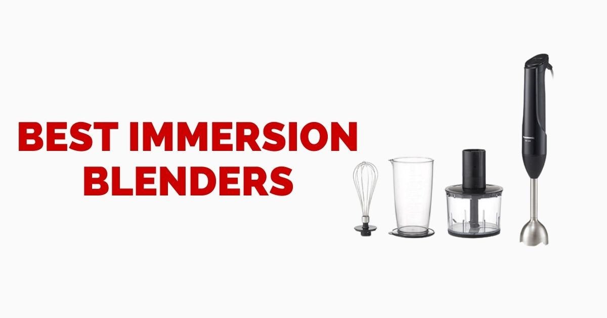 Best Immersion Blender Consumer Reports