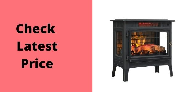Duraflame DFI-50103D Infrared Electric Fireplace Stove